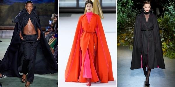 Áo khoácdạng cape (không tay) luôn mang đến cho phái đẹp vẻ ngoài sang trọng, thanh lịch.