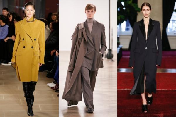 Trang phục may đo cao cấp trở lại với nhiều kiểu dáng đa dạng của các nhà mốt The Row, Marina Moscone, Michael Kors, Proenza Schouler... dành cho những quý cô công sở yêu thích phong cách thanh lịch.