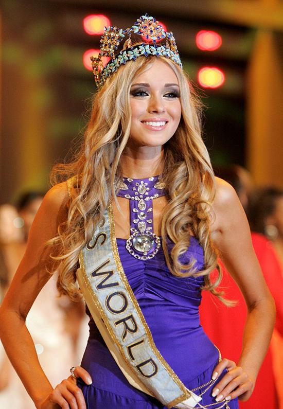 Vẻ quyến rũ của Hoa hậu Nga