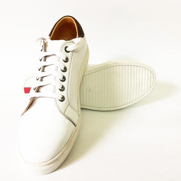 Giày sneaker thể thao nam bằng da có giá ư