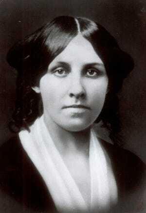 Chân dung nữ nhà văn Louisa May Alcott. Ảnh: Associate