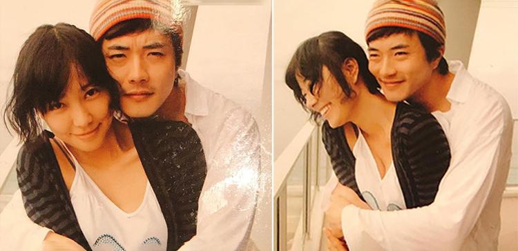 Hình ảnh vợ chồng Kwon Sang Woo năm 2008 do Son Tae Young chia sẻ. Ảnh: Instagram.