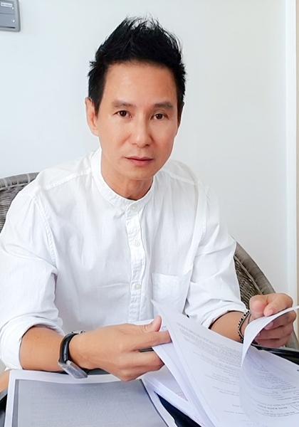 Đạo diễn Lý Hải bị đòi bồi thưởng bốn tỷ đồng vì MV nhạc phim Lật mặt 4. Ảnh: Lê Tuấn.