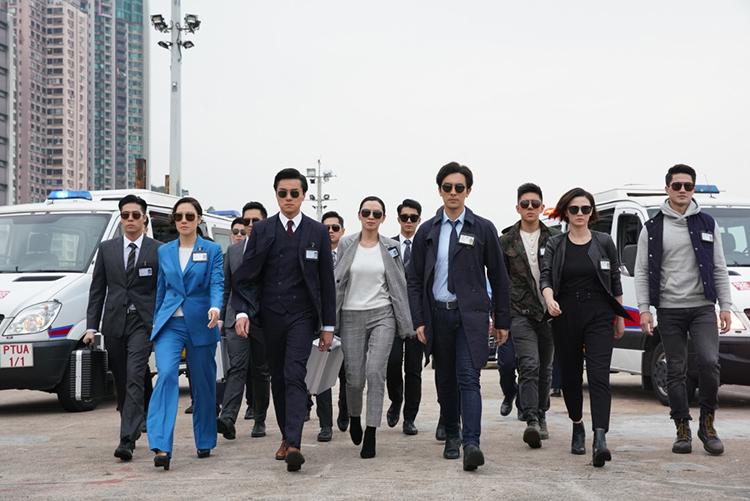 Cảnh phim Bằng chứng thép 4. Ảnh: TVB.