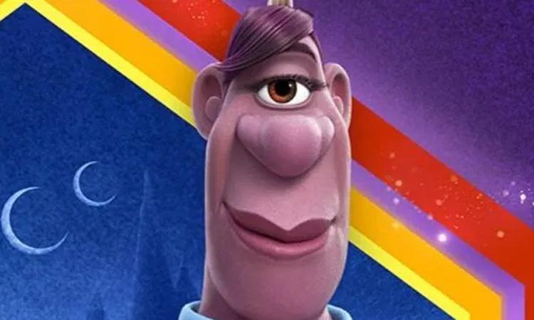 Nhân vật đồng tính nữ trong phim Onward. Ảnh: Disney.