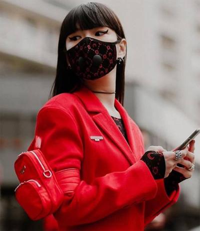 Ng??i m?u Nh?t B?n?Kozue Akimoto khi d? Tu?n th?i trang Paris Thu ??ng 2020, di?n ra cu?i tháng 2.