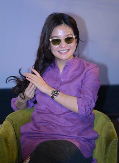 Nữ diễn viên từng không kiểm soát được cân nặng, bị khán giả nhận xét không trau chuốt hình ảnh khi tham gia sự kiện.