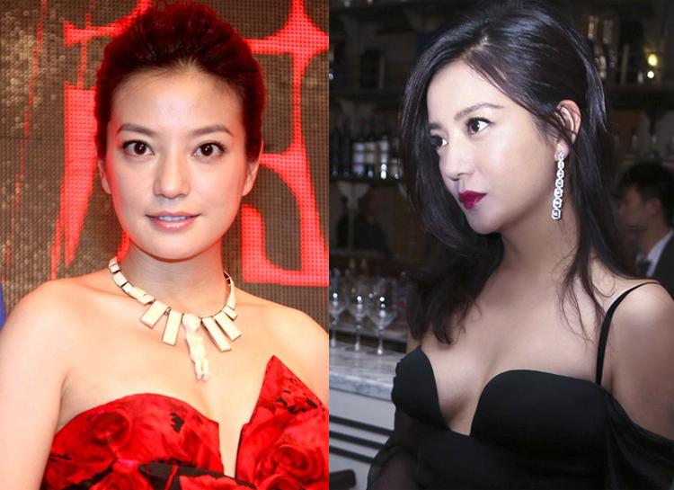 Thường mặc kín đáo song thi thoảng, bà mẹ một con thu hút chú ý của truyền thông Hoa ngữ và khán giả khi chọn váy áo tôn vòng một.