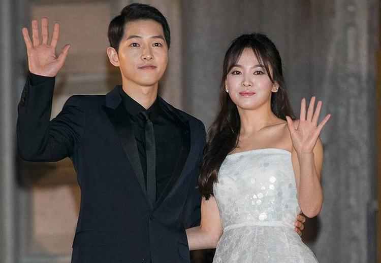 Song Joong Ki và Song Hye Kyo khi còn yêu nhau. Ảnh: Mydaily.