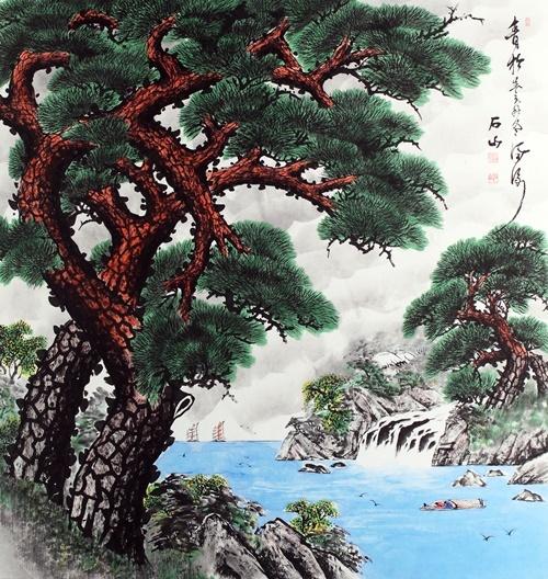 Tác phẩm của họa sĩKim Young Cheol.