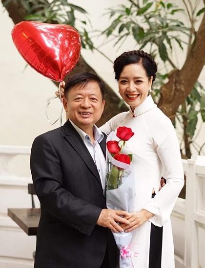 Vợ chồng Đỗ Hồng Quân - Chiều Xuân là hình mẫu của nhiều cặp sao trẻ. Ảnh: Nhân vật cung cấp.