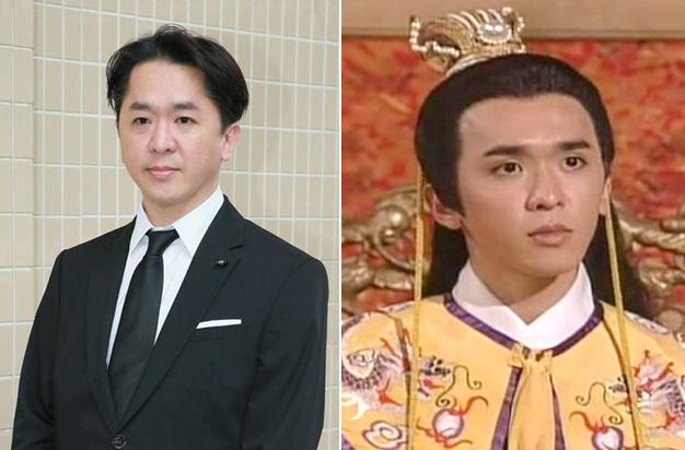 Đặng Triệu Tôn ngoài đời và tạo hình trong phim TVB. Ảnh: Ulifestyle.