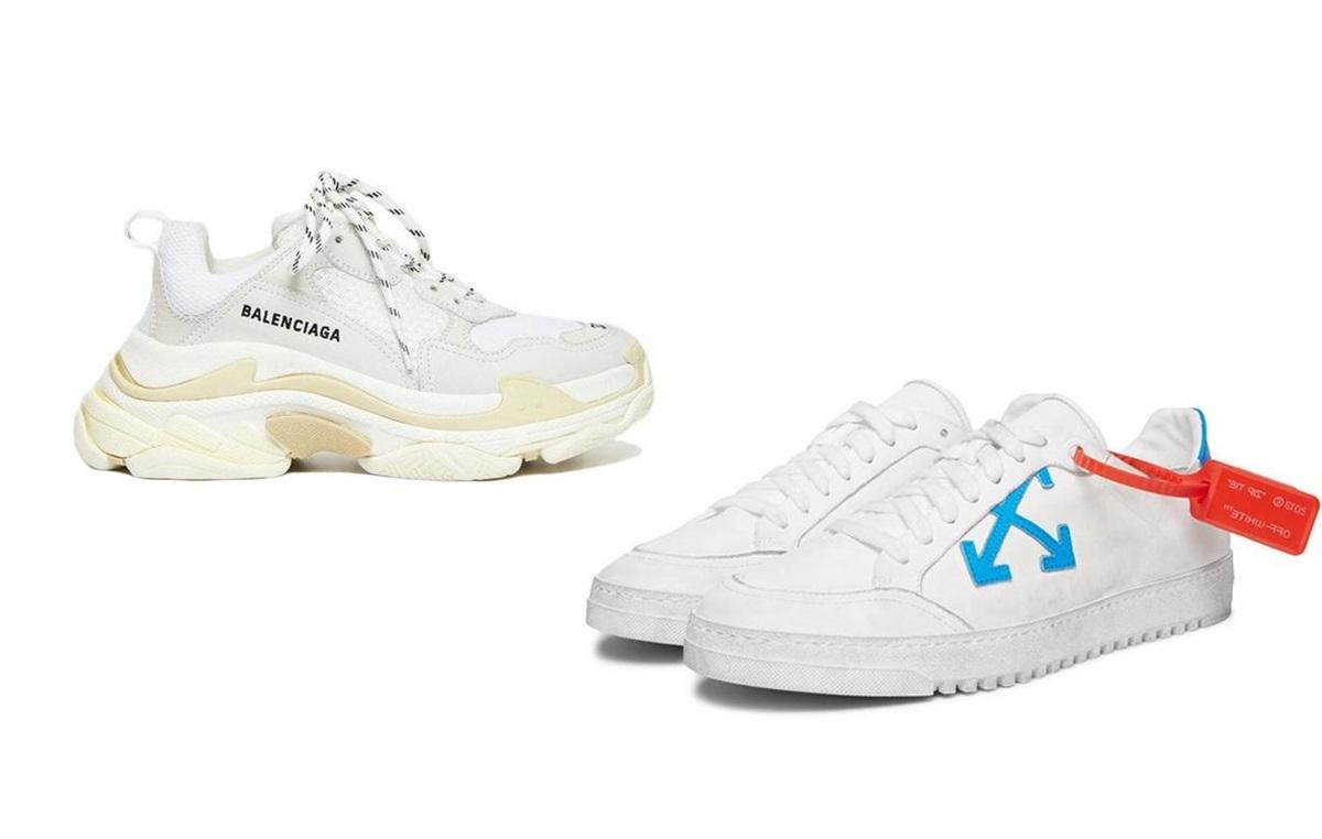Loạt sneaker trắng hút tín đồ thời trang - 1