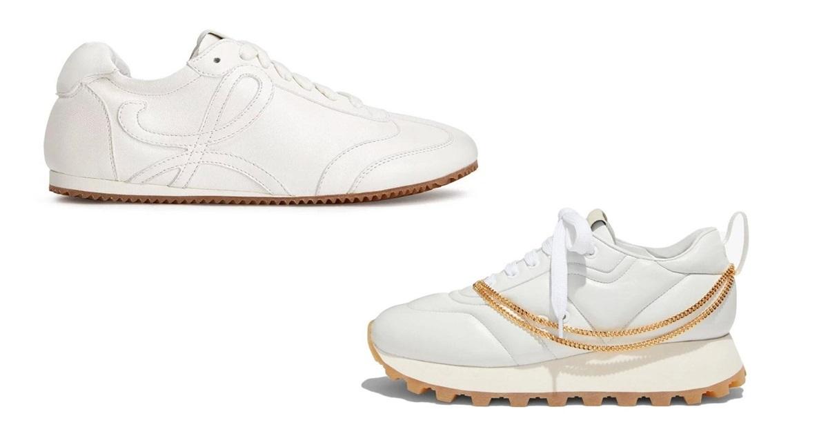 Loạt sneaker trắng hút tín đồ thời trang - 2