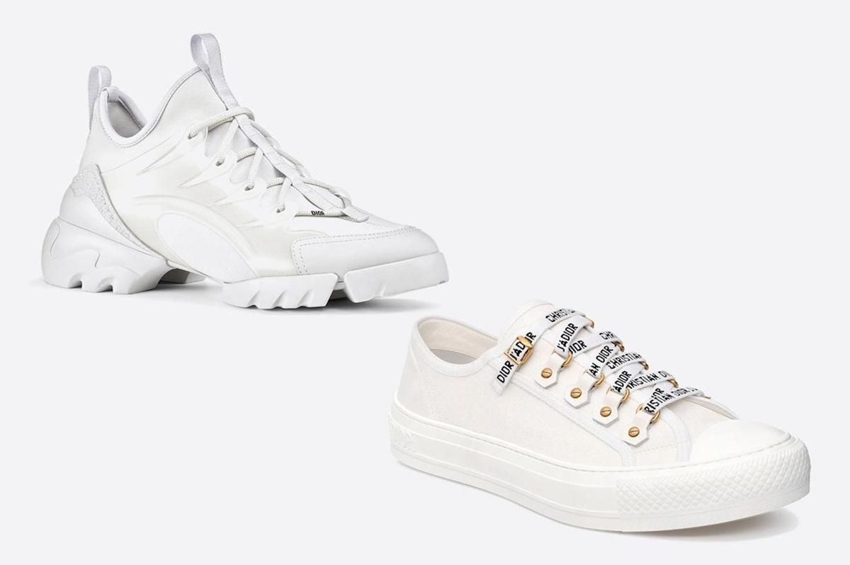 Loạt sneaker trắng hút tín đồ thời trang - 4