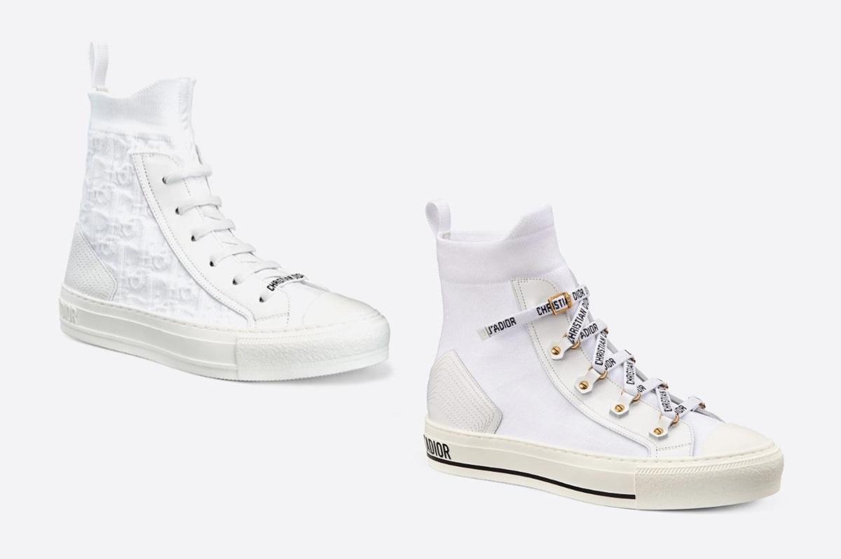 Loạt sneaker trắng hút tín đồ thời trang - 5