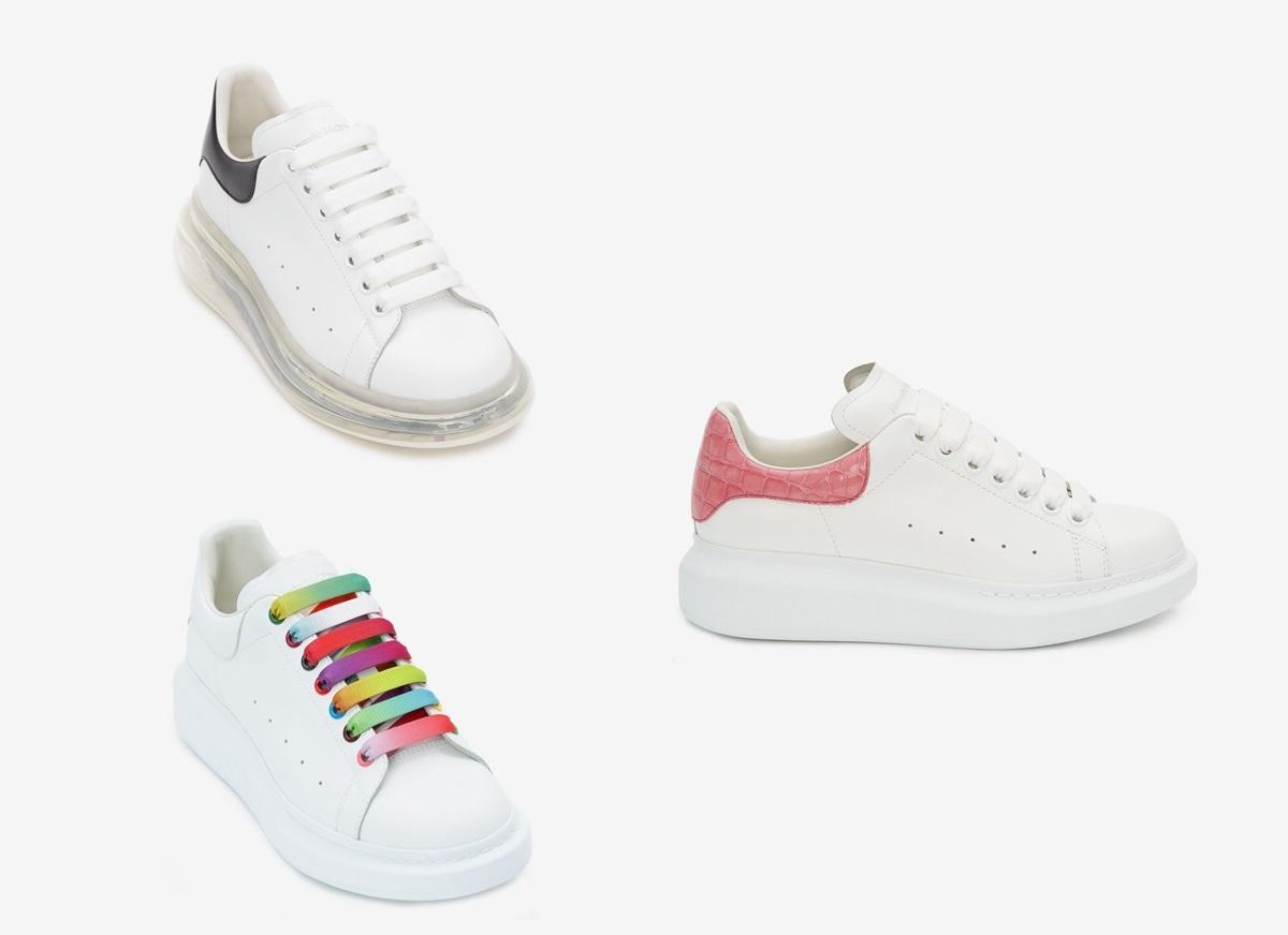 Loạt sneaker trắng hút tín đồ thời trang - 7