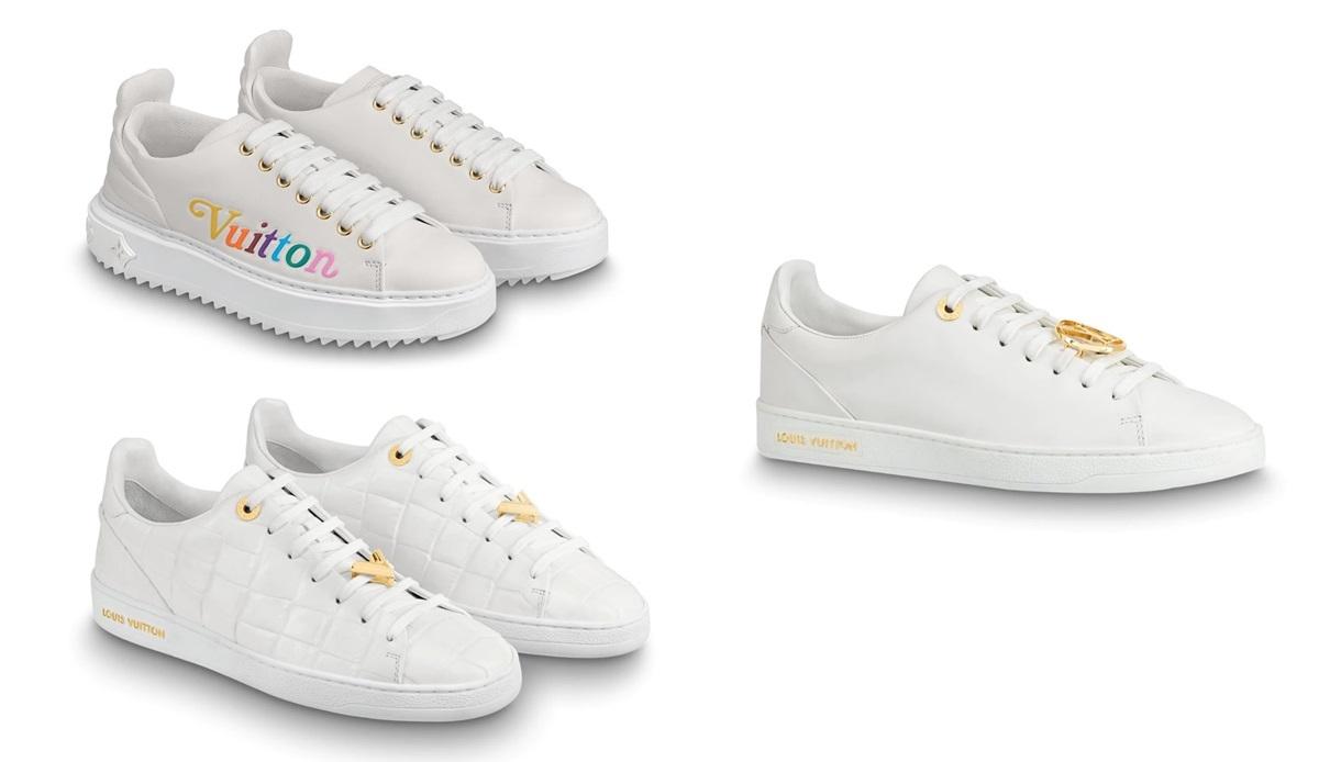 Loạt sneaker trắng hút tín đồ thời trang - 8