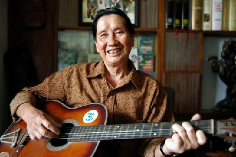 Nhạc sĩ Phạm Tuyên.