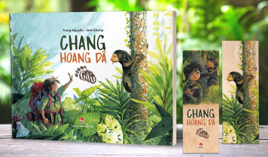 Chang hoang dã - Gấu được Nhà xuất bản Kim Đồng phát hành ngày 10/3.