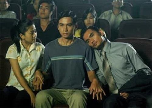 Từ trái sang: Mai Phương, Ngọc Thuận, Đức Hải (trong Trai nhảy). Ảnh: hãng phim Thiên Ngân.
