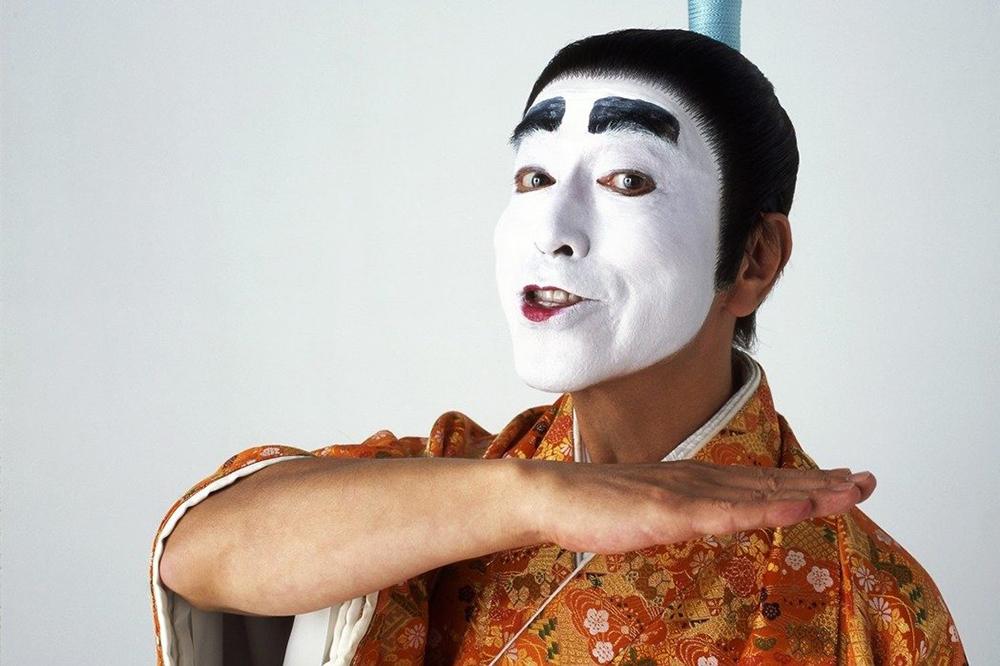 Tạo hình chúa tể ngu ngốc của Ken Shimura. Ảnh: Flash.