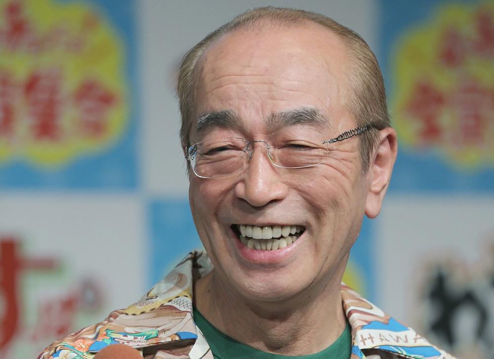 Cố nghệ sĩ Ken Shimura. Ảnh: Bunshun.