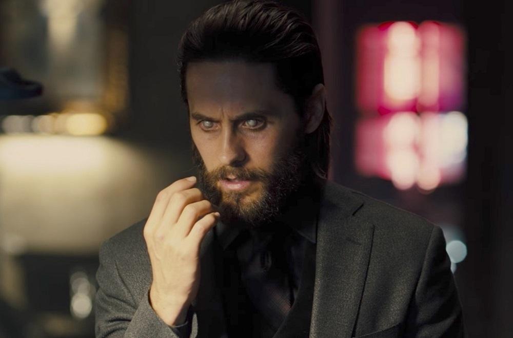 Jared Leto đóng chính Morbius, trong vai nhân vật có năng lực gần giống ma cà rồng. Ảnh: Sony.