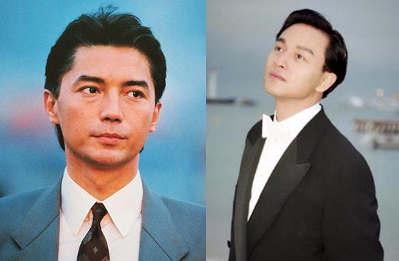 Diễn viên Tôn Long (trái) và Trương Quốc Vinh. Ảnh: Mtime.
