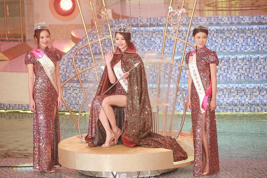 Top 3 Hoa hậu Hong Kong 2019. Ảnh: TVB.