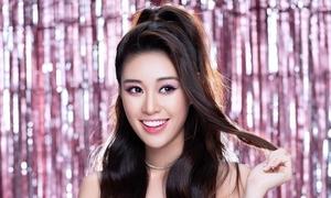 Hoa hậu Khánh Vân nấu ăn, học online