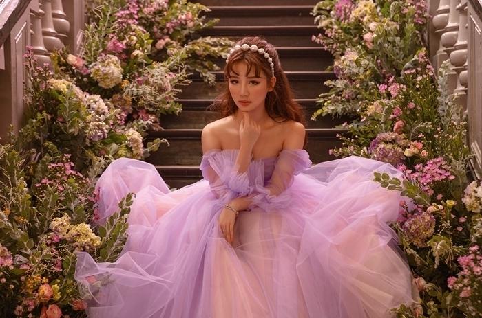 Amee gắn liền với phong cách công chúa. Ảnh: nhân vật cung cấp.