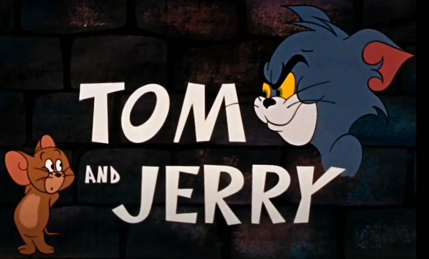Một cảnh mở đầu trong loạt phim Tom & Jerry do Deitch đạo diễn. Hai nhân vật  này được William Hanna và Joseph Barbera sáng tạo từ năm 1940. Ảnh: MGM.