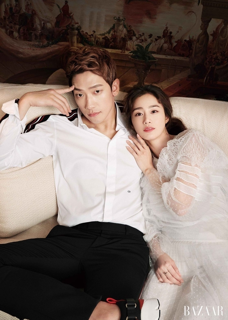 """Bi Rain chia sẻ : """" Kim Tae Hee muốn cưới anh ngay lần đầu gặp """" - ảnh 1"""