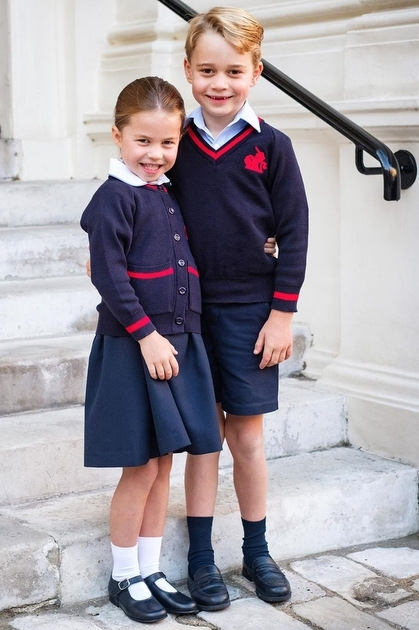 Công chúa Charlotte - ngôi sao thời trang nhí - VnExpress Giải trí
