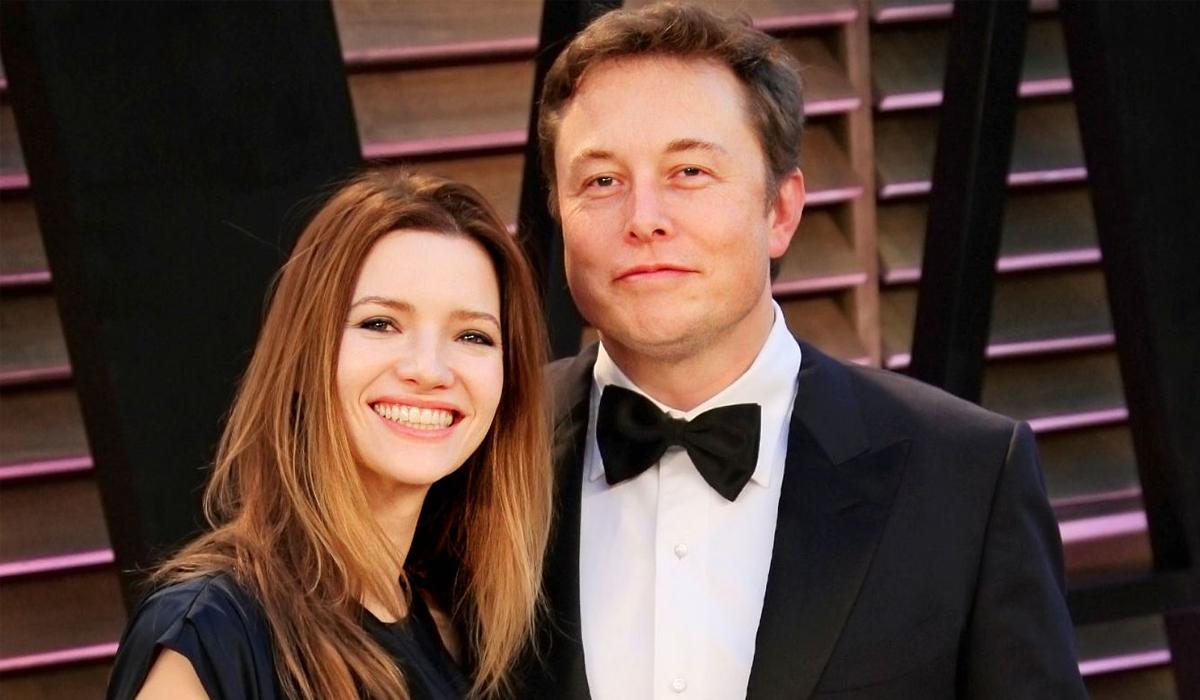 Elon Musk và Talulah Riley. Ảnh: Corbis.
