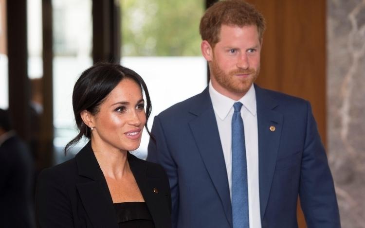 Vợ chồng Harry - Meghan tại London, Anh, hồi tháng 9/2018. Ảnh: Reuters.