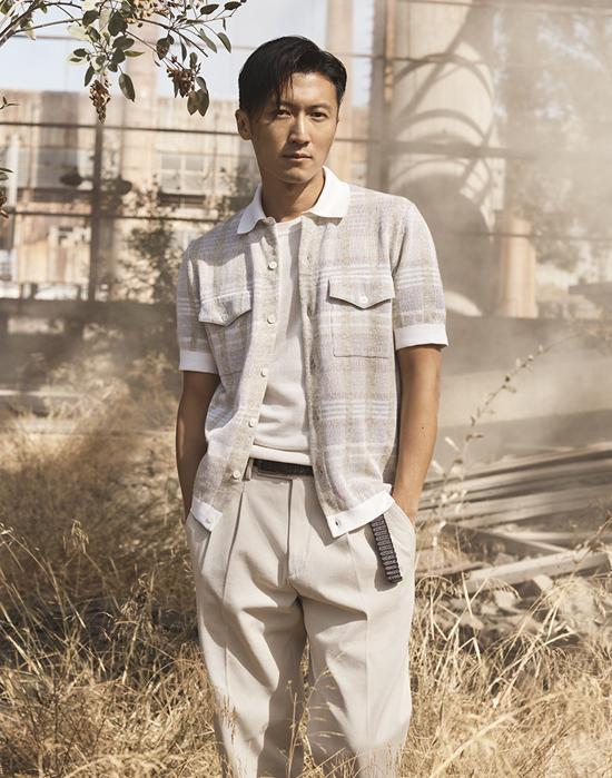Tạ Đình Phong ở tuổi 40. Ảnh: Weibo.
