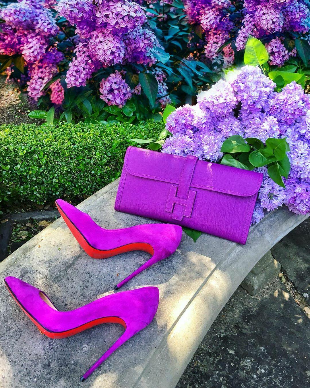Tủ giày, túi ton sur ton của fashionista giấu mặt - 2