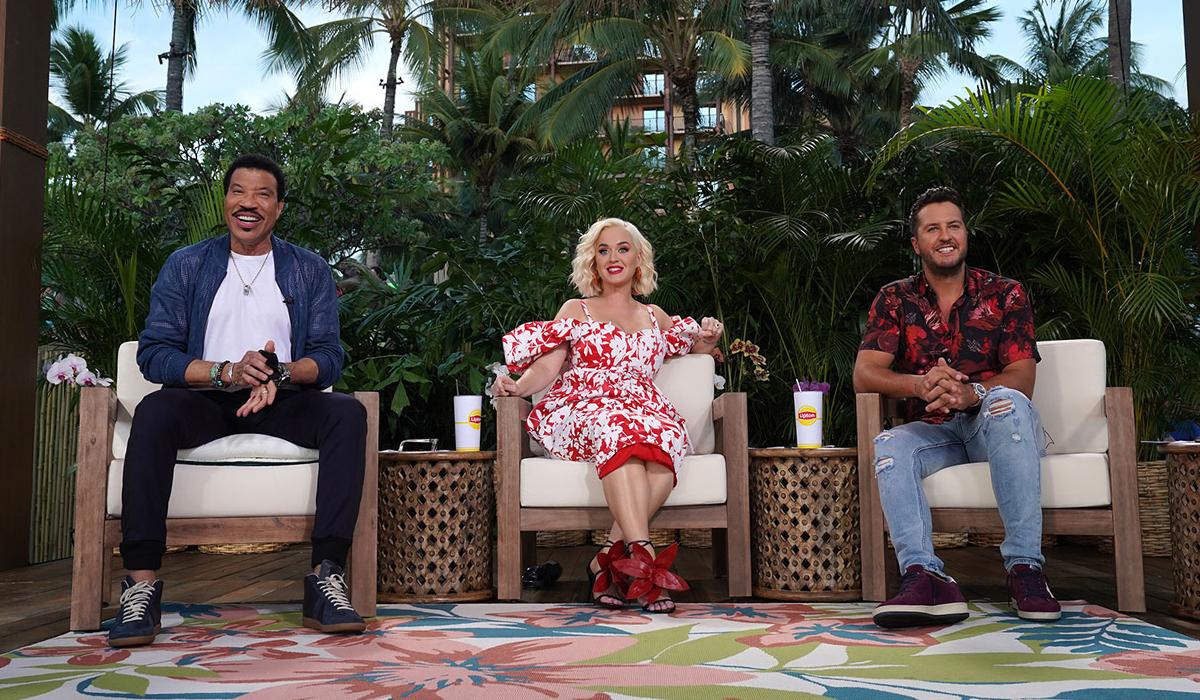Ba giám khảo American Idol 2020: Lionel Richie, Katy Perry và Luke Brian (từ trái qua). Ảnh: ABC.
