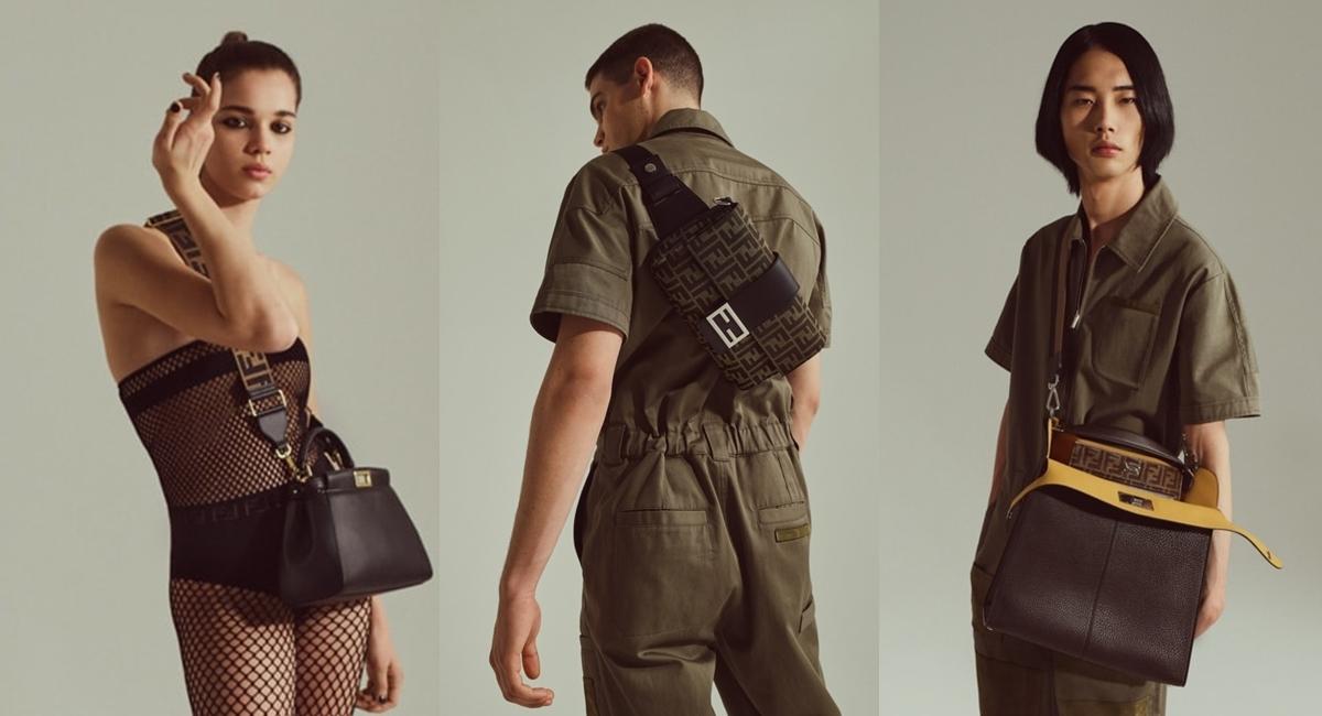 Năm ngoái, Fendi giới thiệu dòng Baguette -một trong những chiếc túi quan trọng của hãng và biểu tượng làng mốt - sau 20 năm nó chinh phục giới mộ điệu.TheoPurseblog, Baguettetrở thành hiện tượngvăn hóa, xuất hiện liên tục trong series nổi tiếng Sex and the City của HBO. Tương tự, dòngPeekaboo cũng thu hút nhiều tín đồ thời trang 10 năm trước.Mùa hè năm nay, Fendi kỷ niệm ra mắt túi Baguette cùngPeekaboo với diện mạotáo bạo hơn.Các thiết kế ghi điểm ở màu sắc trung tính, họa tiết hình khối đặc trưng Fendi. Nhà sản xuất chú trọng kích cỡ, màu sắc khác nhau, giúp cả nam và nữ có thêm nhiều lựa chọn hợp phong cách.