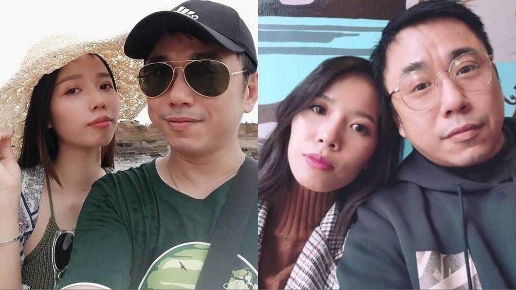 Ôn Triệu Vũ và vợ. Ảnh: Appledaily.