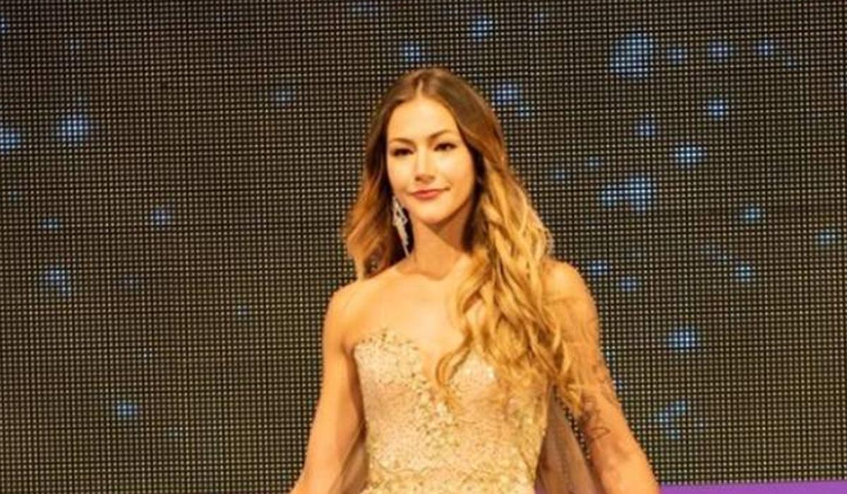 Amber-Lê Friis tại chung kết Hoa hậu New Zealand 2018. Ảnh: Stuff.