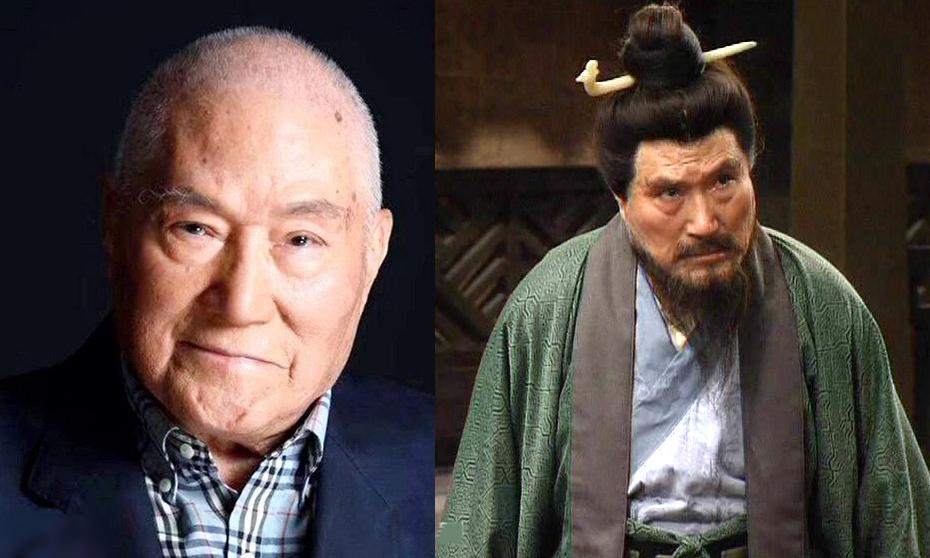 Lưu Long và tạo hình ông trong Tam Quốc diễn nghĩa. Ảnh: Sina.