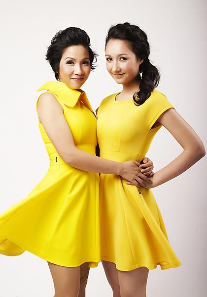 Anna Trương là con gái nhạc sĩ Anh Quốc với vợ cũ