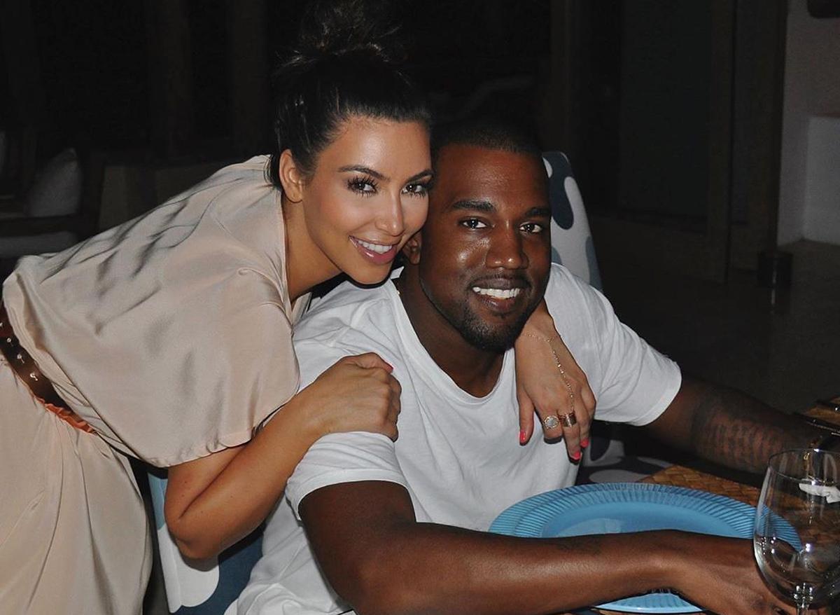 Bức ảnh Kim Kardashian đăng trong ngày kỷ niệm sáu năm cưới. Ảnh: Instagram.