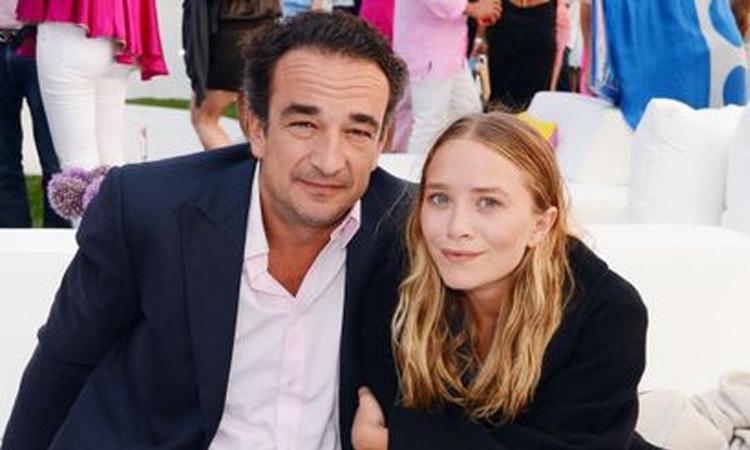 Mary-Kate Olsen và Olivier Sarkozy thời còn bên nhau. Ảnh: Invasion.