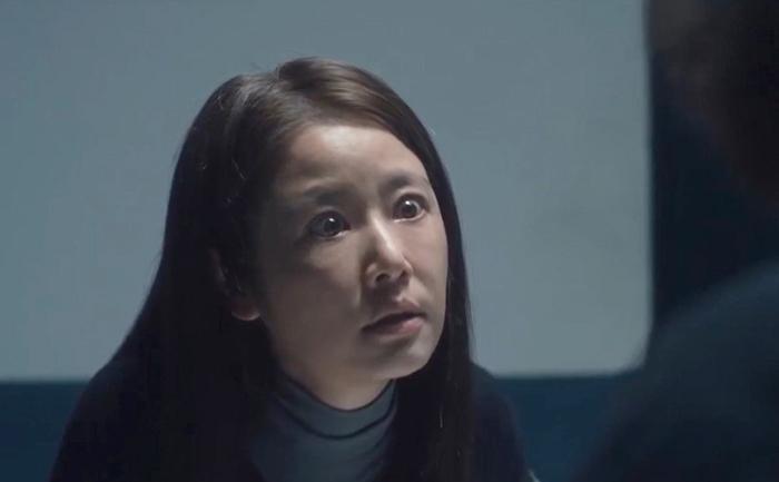 Lâm Tâm Như mặt mộc đóng Trò chơi nạn nhân. Ảnh: Netflix.