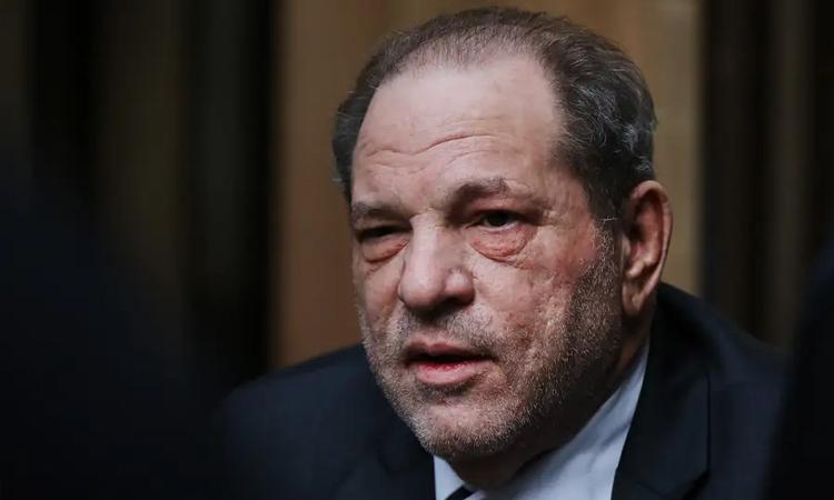 Harvey Weinstein tại phiên tòa hôm 11/3. Ảnh: Reuters.