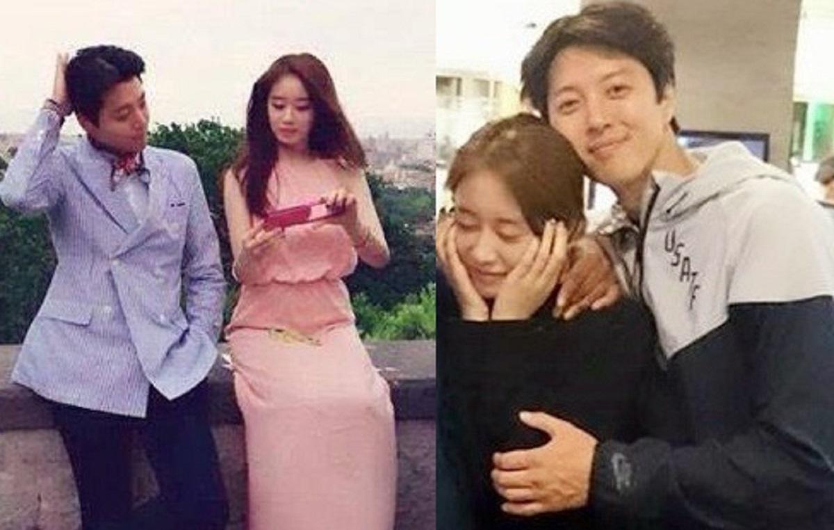 Lee Dong Gun và Ji Yeon chênh nhau 13 tuổi. Ảnh: Weibo.
